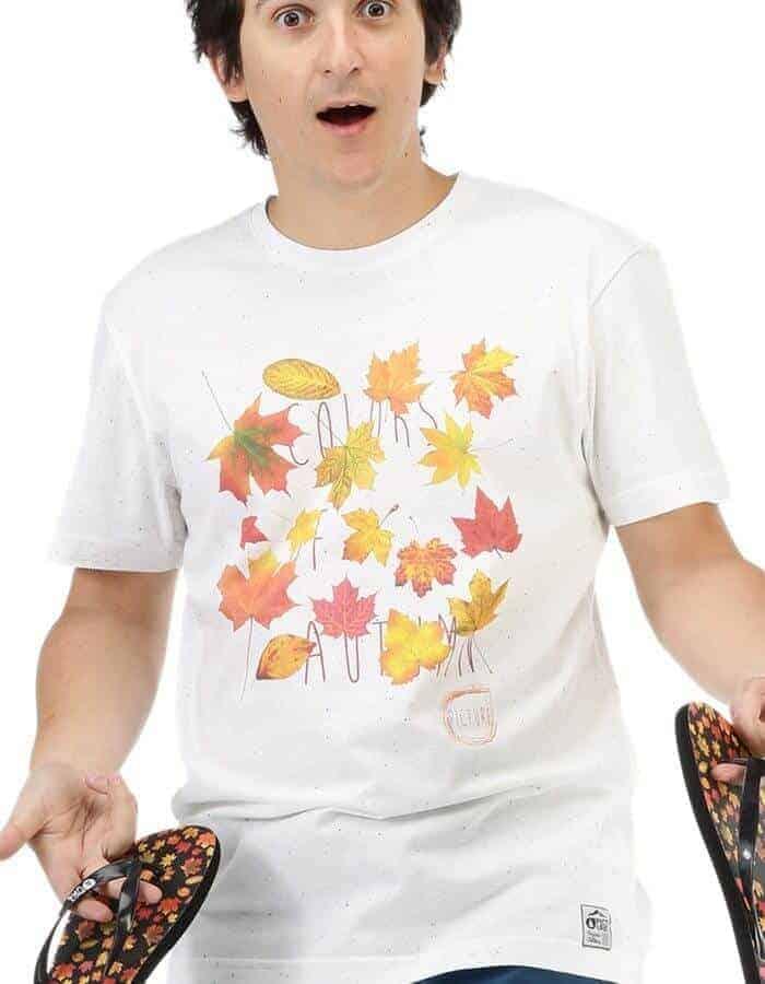 Automn férfi póló modell elölről