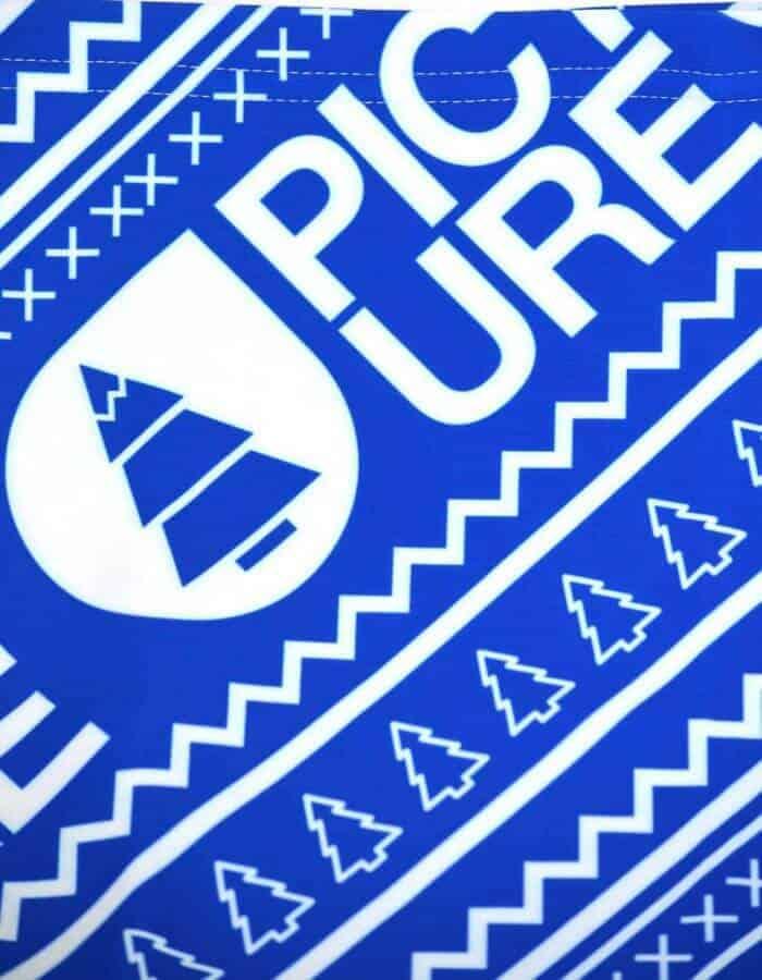 Color kék nyakmelegítő Picture logóval