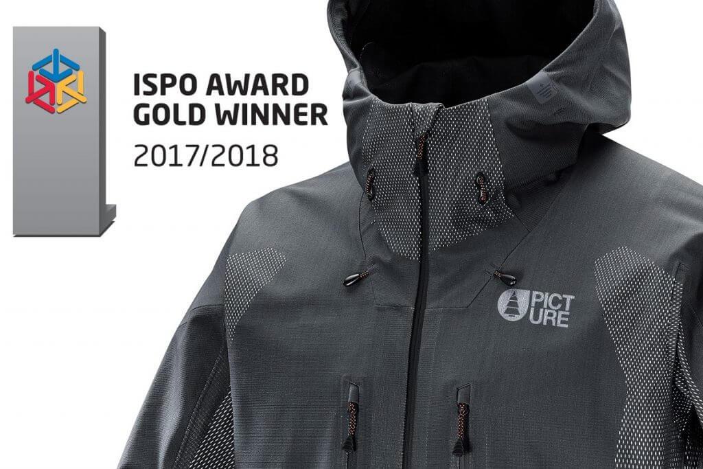 Iceland díjnyertes síkabát ISPO