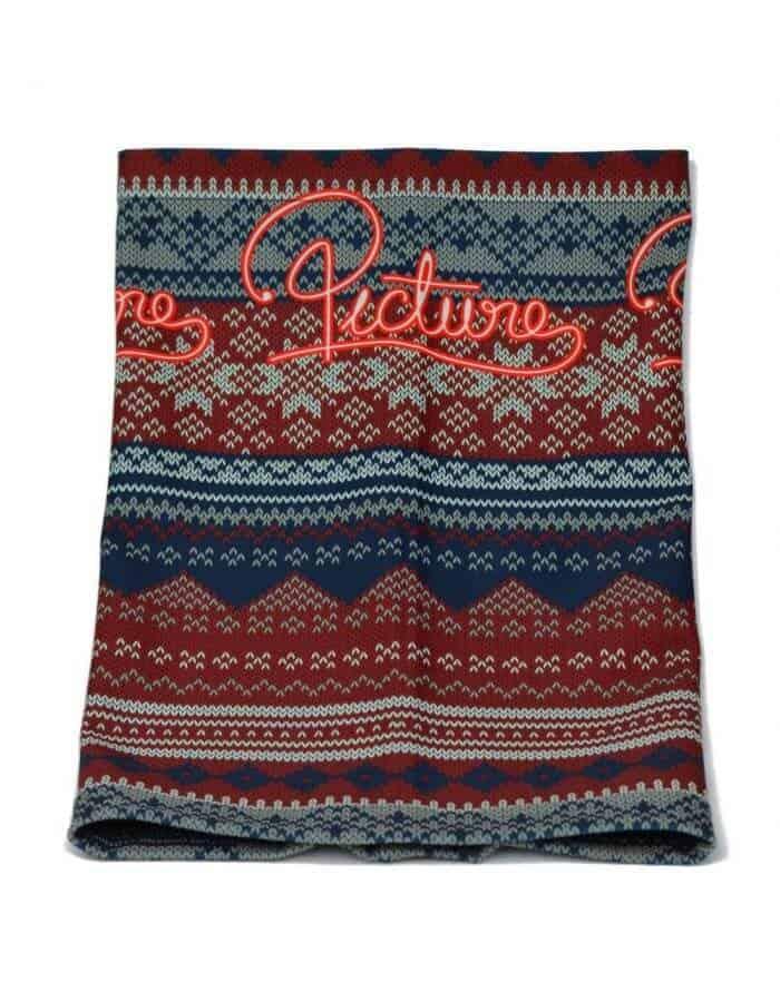 Knitted nyakmelegítő - kötött jellegű mintával távoli kép