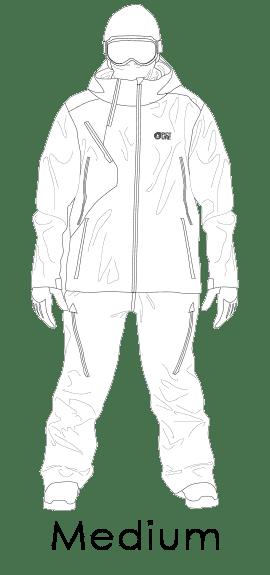 "Férfi téli ruházat ""medium street"" fazon"