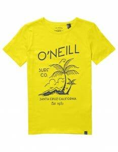 O'Neill 1952 fiú póló sárga színben