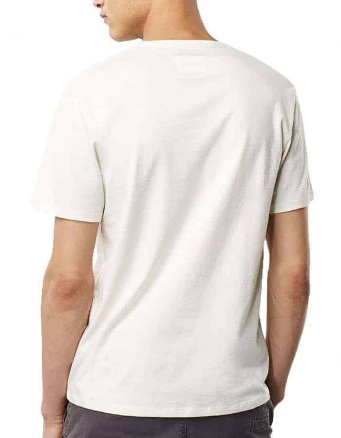 Pocket filler Oneill biopamut férfi póló hátulról modell