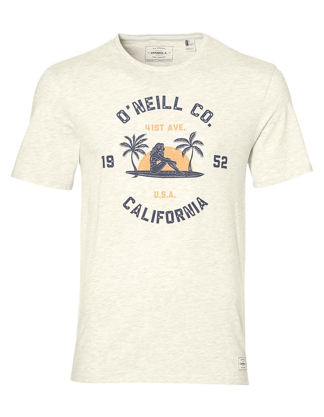 76bc962845 Surf Co póló - O'Neill biopamut férfi póló - EcoWear